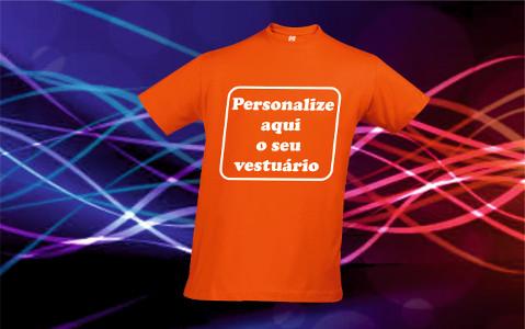 Personalização textil