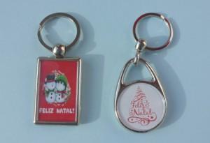 Diversos tipode de porta-chaves
