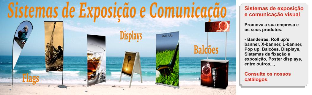 Sistemas exposição e comunicação